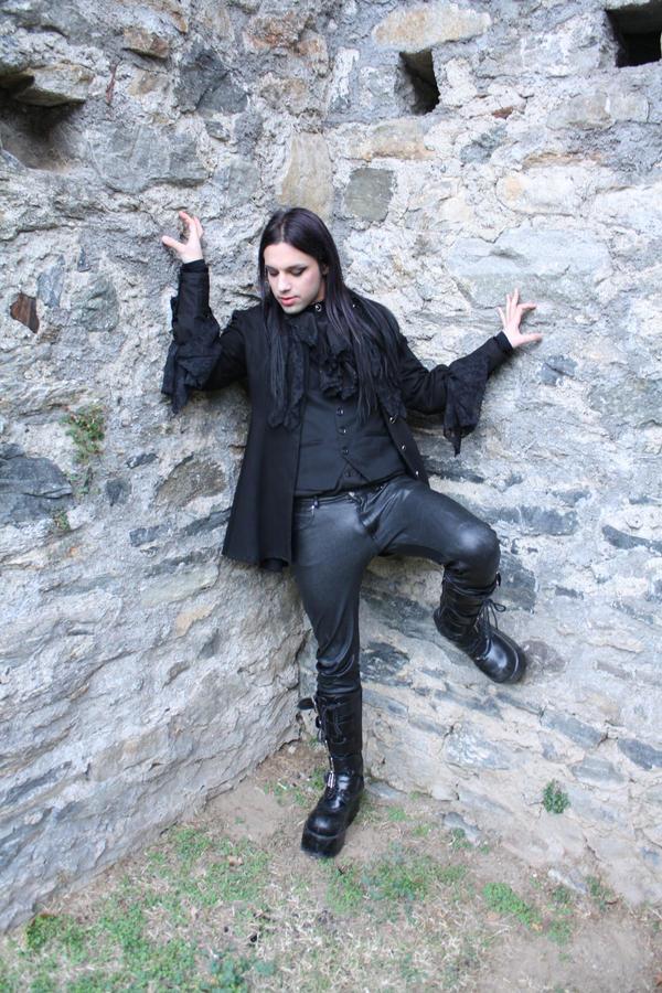Gothic Vampire Male Stock 02 By Gilliann