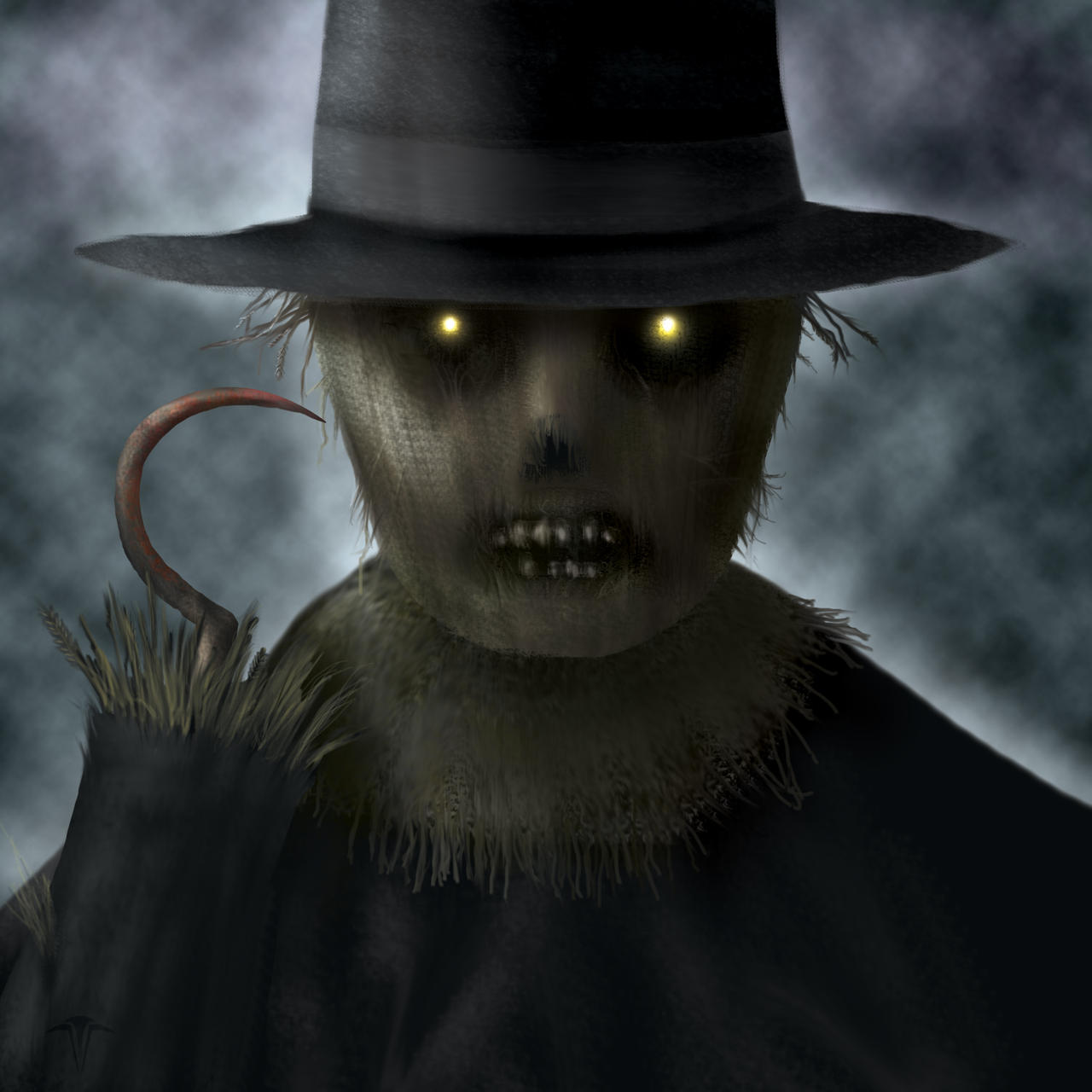 Evil Scarecrow by CagedFreak on DeviantArt