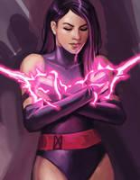 Psylocke - X-Men by irvintustin