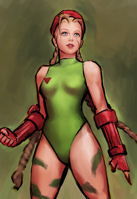 Cammy - Street Fighter IV by irvintustin