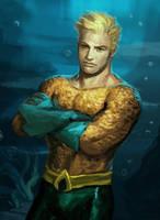Aquaman by irvintustin