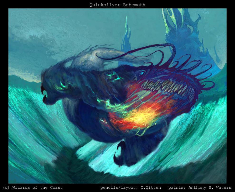 Quicksilver Behemoth by caramitten