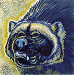 Wolverine Portrait/Pendant design