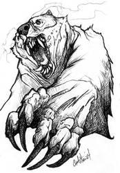 Ghost Bear by caramitten