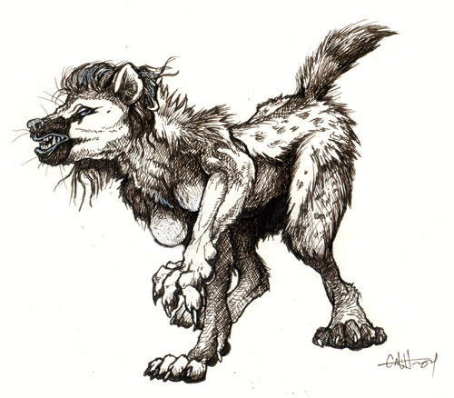 spotted hyena transformation by caramitten