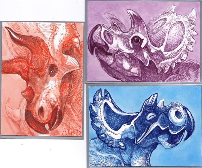 Ceratopsians by caramitten