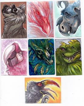July Art Cards