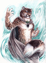 Bink - Celestial Snow Leopard