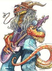 Bass Beast, 2005 by caramitten