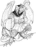Lizard Man by caramitten