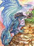 Chuck's Dragon -- Big Blue