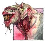 Zombie Dogfood Spokesbeast