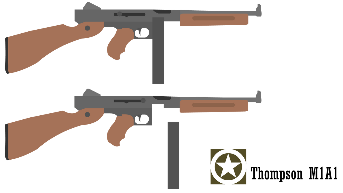 Thompson M1A1 by odedk00thegunmaster on DeviantArt