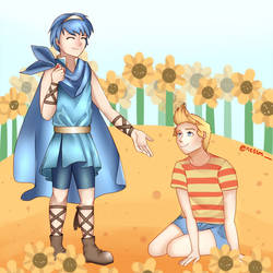 Friends | Fire Emblem and MOTHER 3 Anniversaries! by ness-malta