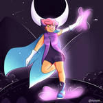 Glimmer from She-Ra! by ness-malta