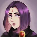 Raven (Teen Titans) by ness-malta