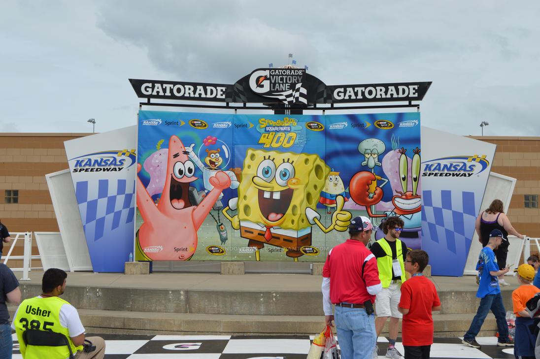 Kansas Speedway Victory Lane by MindOverMiller on DeviantArt