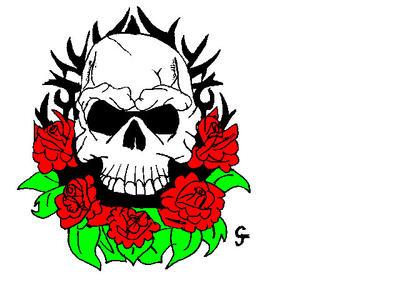 skull by spiderman7