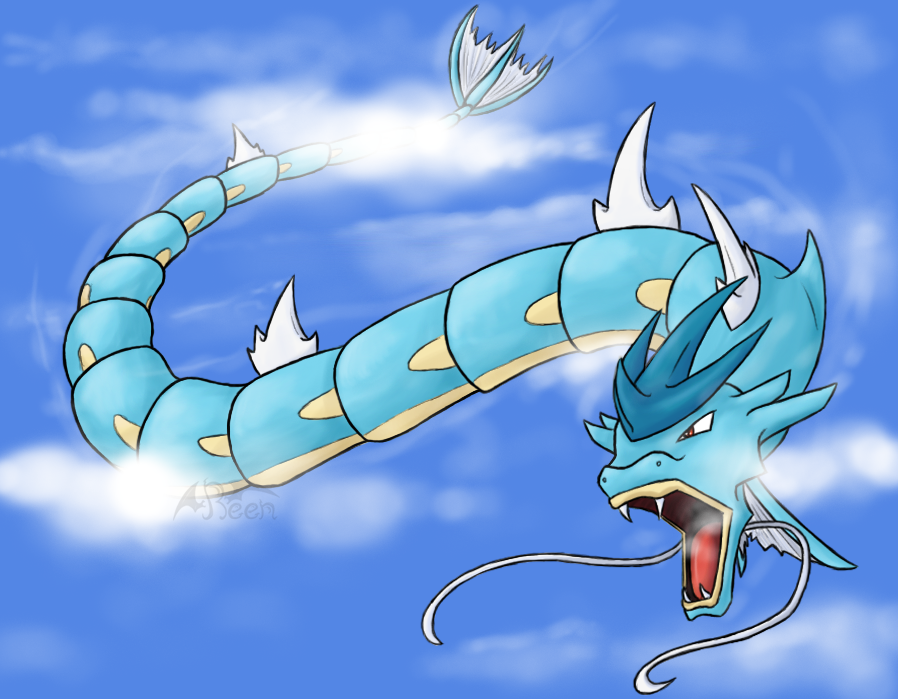 Gyarados is part flying type, and can't learn any flying ...