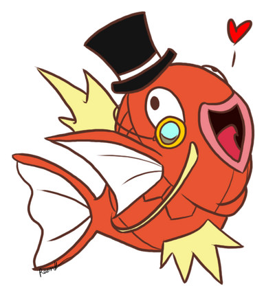 I am Sir Karp how do you do by TheSplashingMAGIKARP