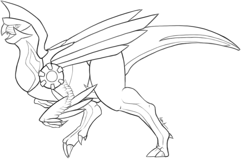 palkia coloring pages - photo#37