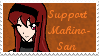 Support Makino-san Stamp by Makino-San