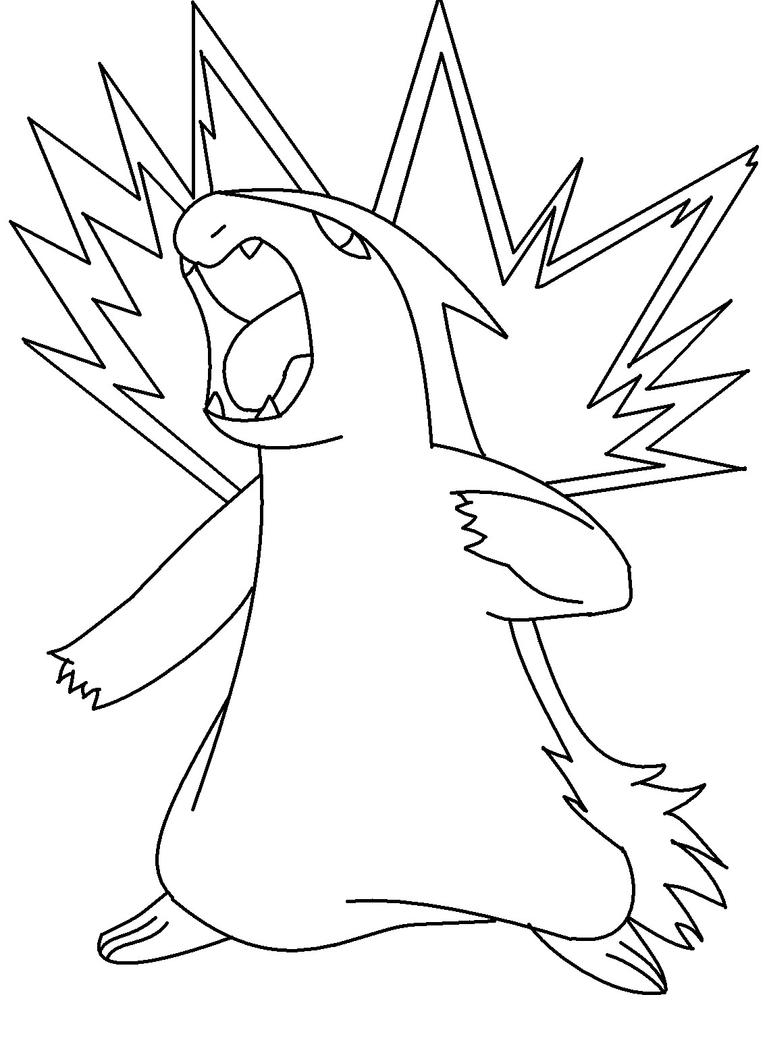 Pokemon coloring pages typhlosion - Typhlosion Coloring Pages Coloring Pages