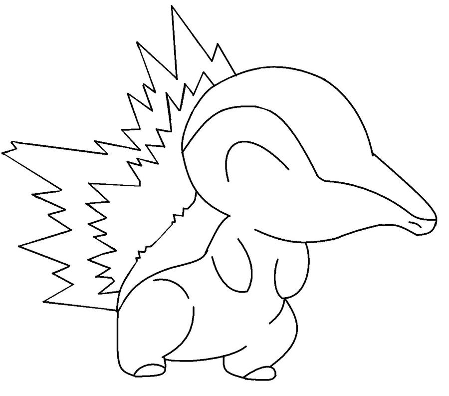 color in cyndaquil by newdeadmaninc - Color In Images