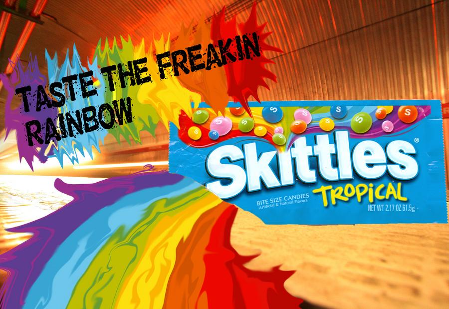 Skittles Logo By Kristofferson89