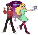 Star Butterfly and Marco DIaz