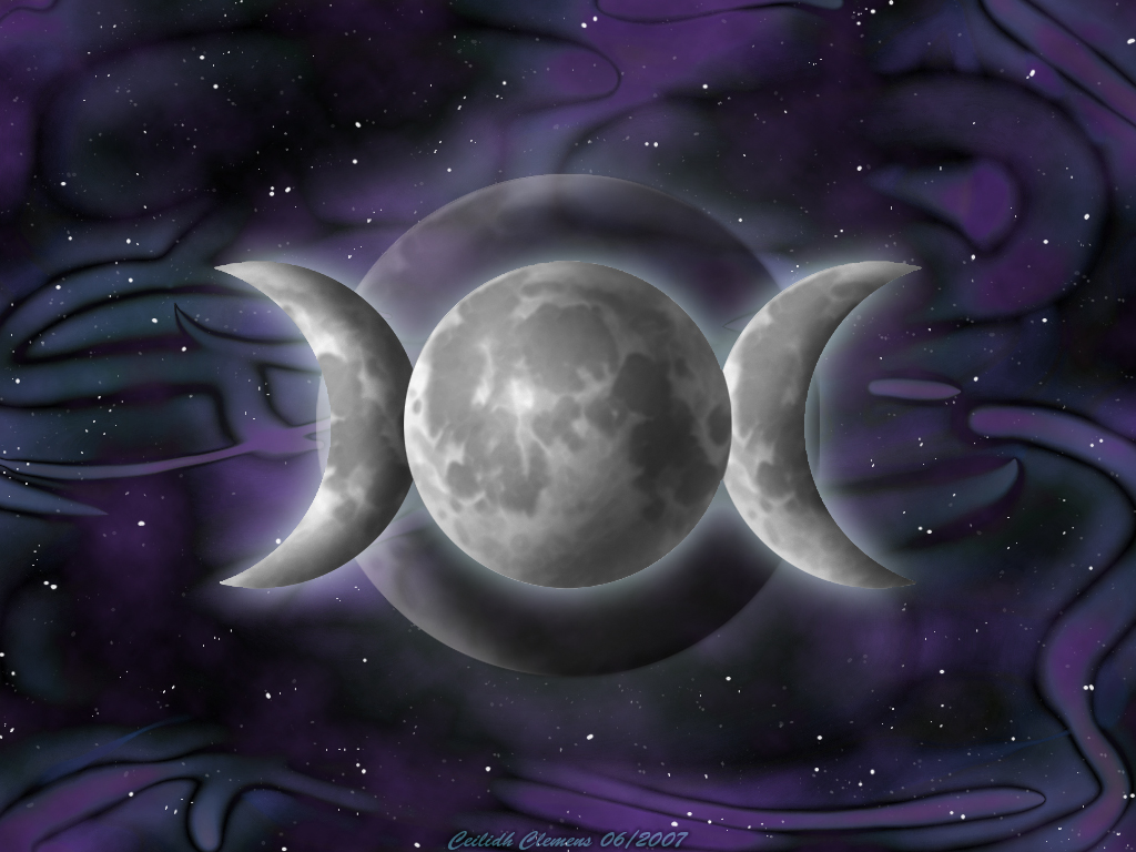 Triple Goddess Background by Nilessa on DeviantArt