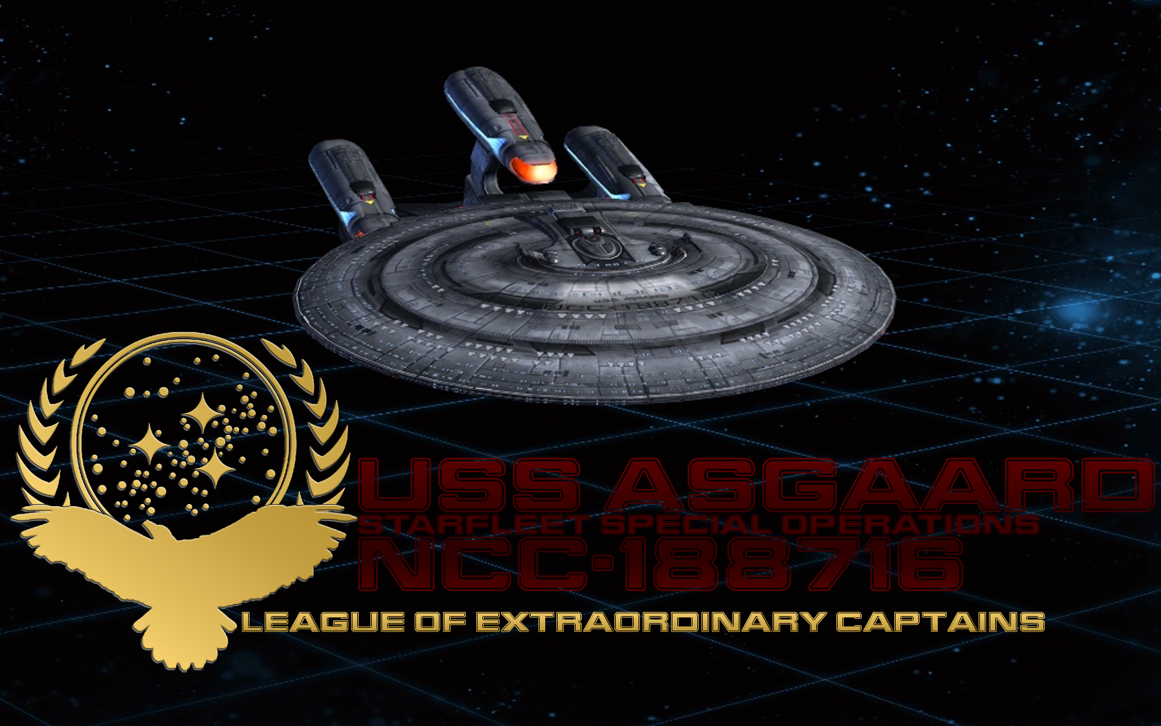 LOEC Wallpapers - USS Asgaard by kevmascolcha