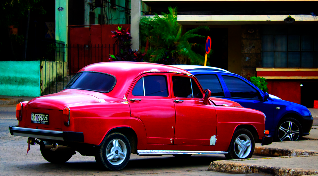 Old-Fashioned Cars in Cuba by OrangeTabby106 on DeviantArt