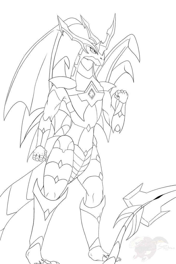 Bakugan Coloring Page Dragonoid By Spectra48 On Deviantart