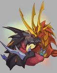 Bakugan / Helios and Drago