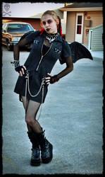 Halloween Batgirl by x-Goddess-x