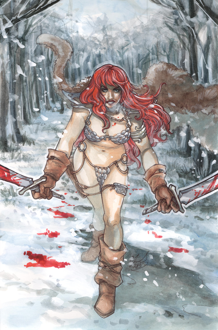 red snow by CassandraJames