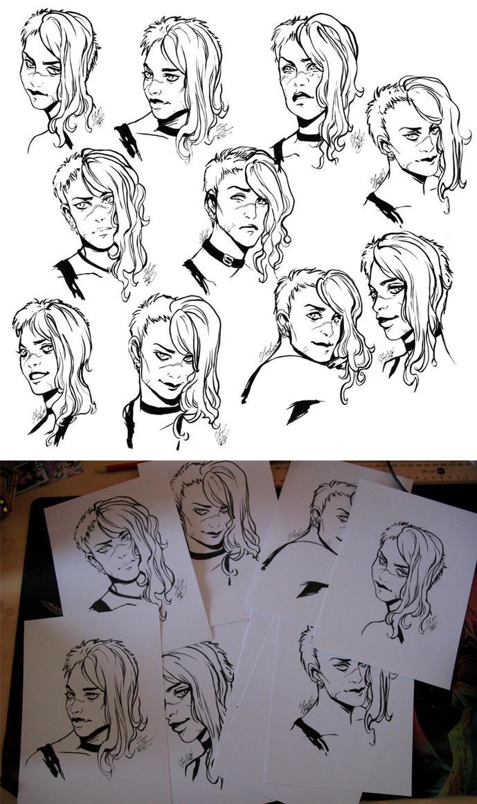 Atorykiller sketches by CassandraJames