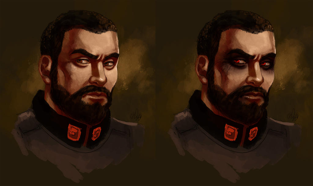 Commander Bourbero by CassandraJames