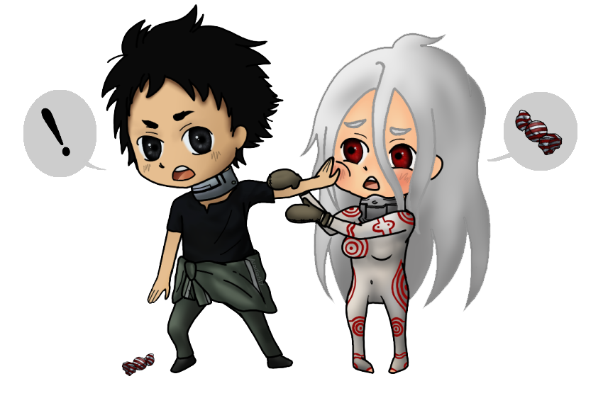 Deadman Wonderland: Ganta and Shiro by Aradia617