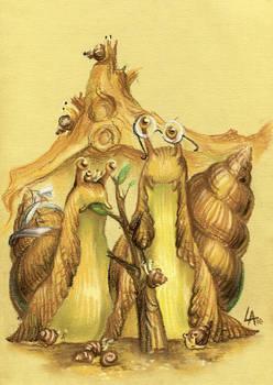snail gothic