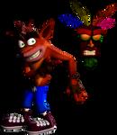 Crash Bandicoot Render (In 3D)