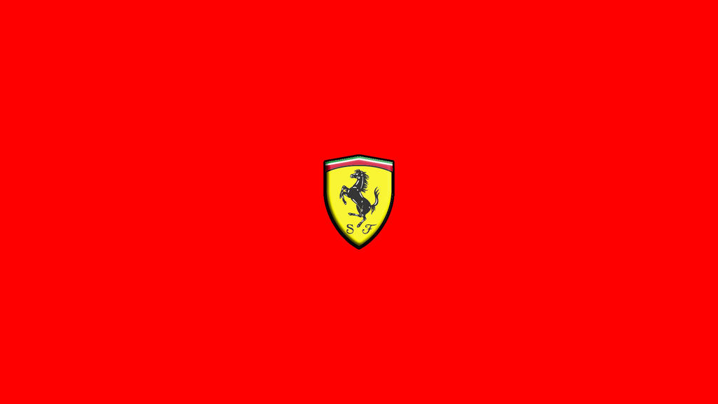 A Wallpaper Of The Ferrari Logo By DiagonalShadow On
