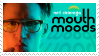 mouth moods stamp by hiptothejavabean