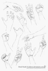 Hand Study by alebrey