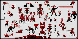 Some quick pixels