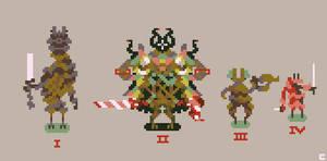 Pixel art styles go weird