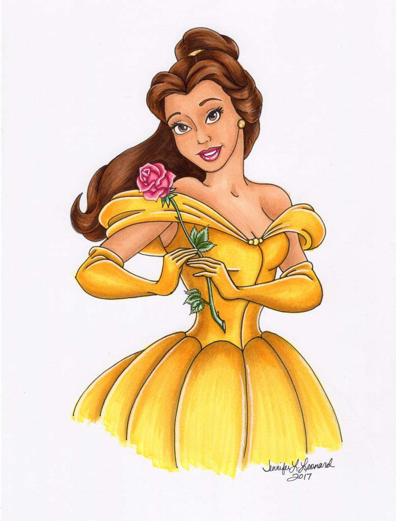 Belle by SunsetRising-Art