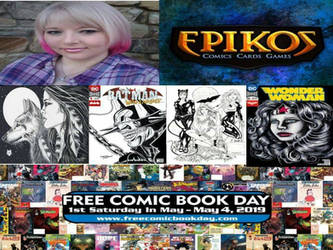 Free Comic Book day at Epikos by SunsetRising-Art