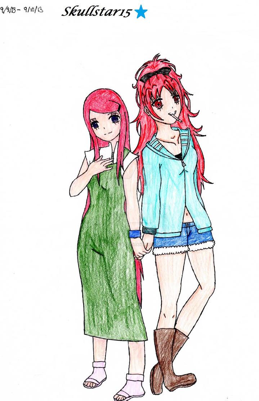 My favorite anime redheads by skullstar15